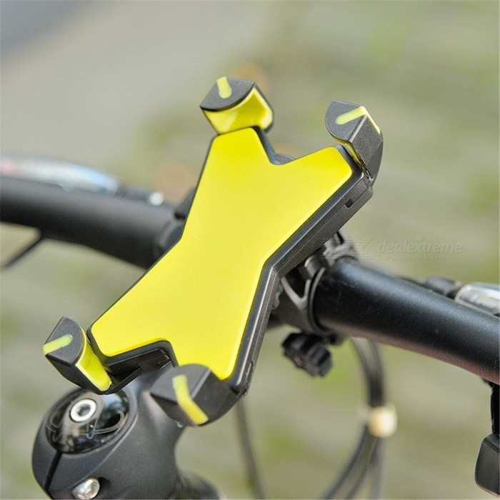LEADBIKE Mountain Bike Rotatable Mount Holder for Cell Phone - YellowBike Holder<br>Form  ColorYellowModelA125Quantity1 DX.PCM.Model.AttributeModel.UnitMaterialABSBest UseCycling,Mountain Cycling,Recreational Cycling,Road Cycling,Triathlon,Bike commuting &amp; touringTypePhone HoldersOther FeaturesSuitable for: 3.5-7 inch mobile phonePacking List1 x Phone holder<br>