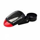 Solar Energy Mountain Bike Bicycle LED Tail Rear Light Outdoor Sports