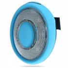 Waterproof USB Rechargeable 3-Mode Bicycle LED Tail Light - Sky Blue