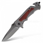 Outdoor Camping Folding Knife - Grey