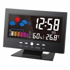 Digital Temperature Humidity Meter Clock