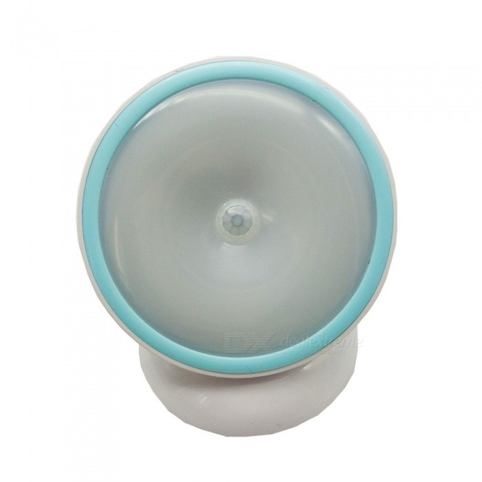 360 Degree Rotating Magnetic Induction LED Night Light with BaseLED Nightlights<br>Form  ColorWhite + Light BlueConnector TypeOthers,NOMaterialABSQuantity1 piecePower1WRated VoltageDC 12 VColor BINNeutral WhiteEmitter TypeLEDTotal Emitters5Theoretical Lumens50 lumensDimmableNoInstallation TypeWall MountPacking List1 x Light1 x Box<br>
