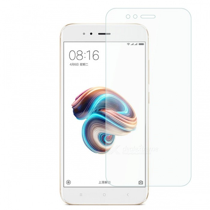 Dayspirit Tempered Glass Screen Protector Film for Xiaomi Mi 5XScreen Protectors<br>Form  ColorTransparentScreen TypeGlossyModelN/AMaterialTempered glassQuantity1 DX.PCM.Model.AttributeModel.UnitCompatible ModelsXiaomi Mi 5XFeatures2.5D,Tempered glassPacking List1 x Tempered glass screen protector1 x Dust cleaning film 1 x Alcohol prep pad<br>