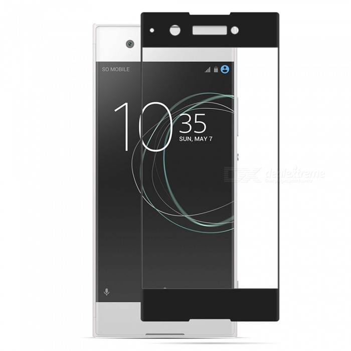 Naxtop Tempered Glass Screen Protector for Sony Xperia XA1Screen Protectors<br>Form  ColorBlackScreen TypeGlossyModelN/AMaterialTempered GlassQuantity1 DX.PCM.Model.AttributeModel.UnitCompatible ModelsSony Xperia XA1Features2.5D,Fingerprint-proof,Scratch-proof,Tempered glassPacking List1 x Screen Film1 x Wet Wipes1 x Dry Wipes1 x Dust-absorber<br>