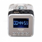 Tt-028 portable mini speaker digital music mp3 mp4 player - black