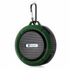 C6 Portable Waterproof Wireless Bluetooth Speaker - Army Green