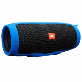 Soft Silicone Case Cover for JBL Charge 3 Bluetooth Speaker - Blue