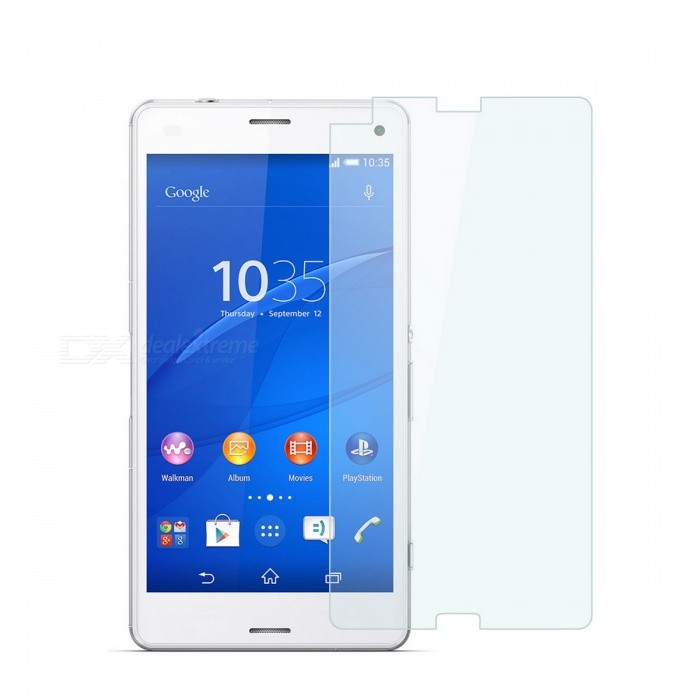 Dayspirit Tempered Glass Film for Sony Xperia Z3 Compact, Z3 MiniScreen Protectors<br>Form  ColorTransparentScreen TypeGlossyModelN/AMaterialTempered glassQuantity1 DX.PCM.Model.AttributeModel.UnitCompatible ModelsSony Xperia Z3 Compact / Z3 MiniFeatures2.5D,Tempered glassPacking List1 x Tempered glass screen protector1 x Dust cleaning film 1 x Alcohol prep pad<br>