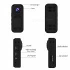 L16 HD 1080p Mini Wi-Fi Camera for IOS and Android Phones - Black