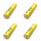 ZHAOYAO 4Pcs 3.7V 18650 5000mAh Li-ion Batteries with EU Charger