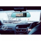 Junsun 1080P 4G Android 5.1 Rearview Mirror Car DVR-kamera med GPS