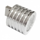 Aluminium Alloy 3W Mini Fingertip USB LED-ljus