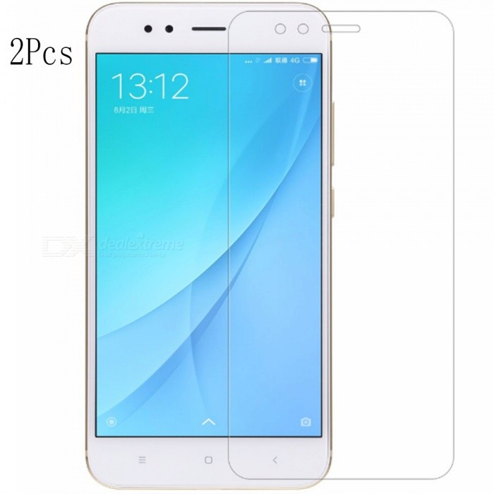 Naxtop Tempered Glass Screen Protectors for Xiaomi Mi 5X (2 PCS)Screen Protectors<br>Form  ColorTransparent (2Pcs)Screen TypeGlossyModelN/AMaterialTempered GlassQuantity2 DX.PCM.Model.AttributeModel.UnitCompatible ModelsXiaomi Mi 5XFeatures2.5D,Fingerprint-proof,Scratch-proof,Tempered glassPacking List2 x Screen Films2 x Wet Wipes2 x Dry Wipes2 x Dust-absorbers<br>