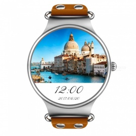 JSBP KW98 Smart Watch w / Monitoraggio frequenza cardiaca / 8GB / GPS - marrone