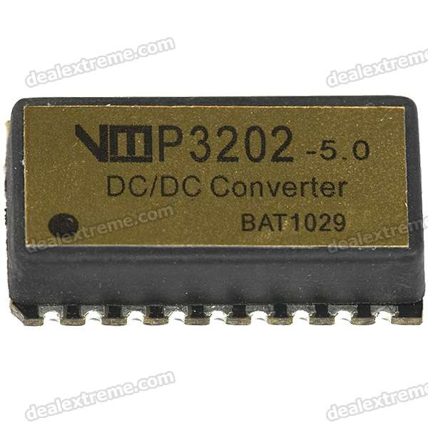 VMP3202-5V High Efficiency DC-DC Module