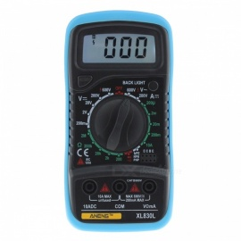 XL830L Digital LCD Multimeter Voltmeter Ammeter Tester - Blue