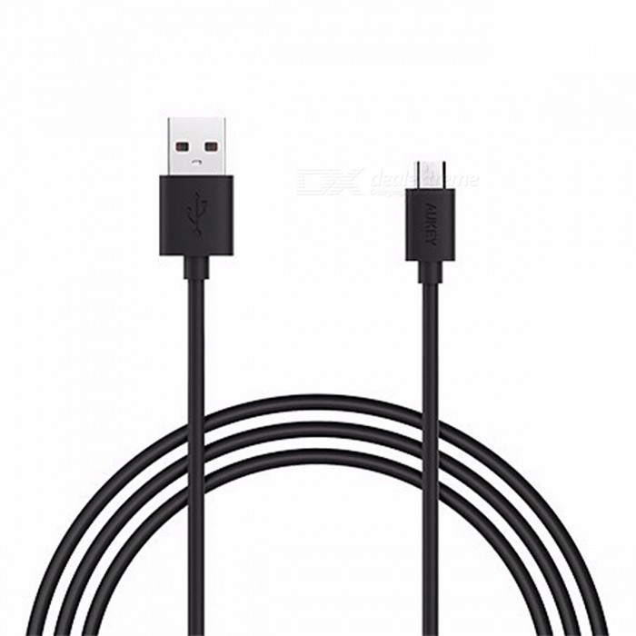 AUKEY CB-D9 2m Universal USB 2.0 Male to Micro USB Data Cable - BlackCables<br>Form  ColorBlackModelCB-D9MaterialPVCQuantity1 pieceCompatible ModelsPhones, tabletsCable Length200 cmConnectorUSB 2.0, Micro USBPacking List1 x 2M Cable<br>