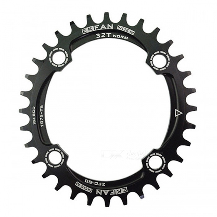 104BCD Oval Bike Chainring Chainwheel - Black (36T)Form  ColorBlack (36T)ModelN/AQuantity1 DX.PCM.Model.AttributeModel.UnitMaterialAluminum AlloyBest UseOthers,Road Bicycles,Mountain BikesSuitable forAdultsTypeOthers,Chain WheelPacking List1 x Chain Wheel<br>
