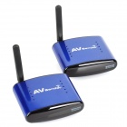 PAT-630 5.8GHz Wireless A/V STB Transmitter with Receiver Set (Blue)