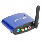 PAT-640 5.8GHz Wireless A/V STB Transmitter with Receiver Set (Blue)