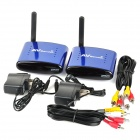 PAT-630 5.8GHz Wireless A/V STB Transmitter with Receiver Set - Blue