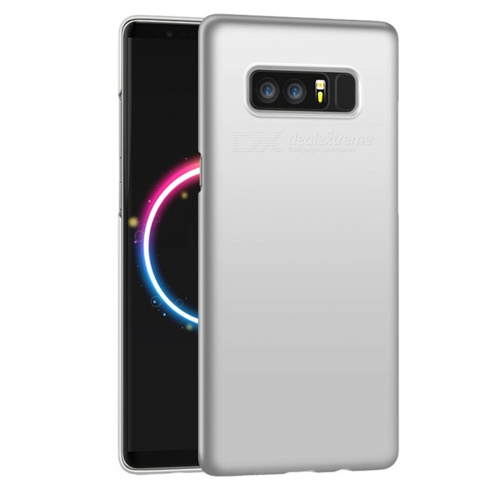 Naxtop Protective PC Hard Back Case for Samsung Galaxy Note 8 - SilverPlastic Cases<br>Form  ColorSilverModelN/AMaterialPCQuantity1 pieceShade Of ColorSilverFeaturesAnti-slip,Dust-proof,Shock-proof,Abrasion resistanceCompatible ModelsSamsung Galaxy Note8Packing List1 x Case<br>