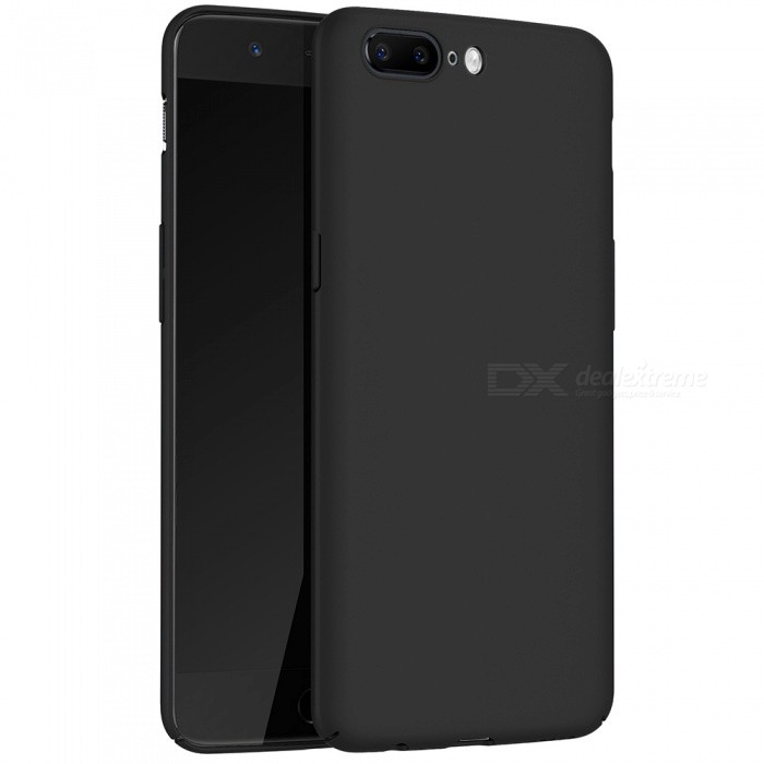 Naxtop PC Hard Protective Back Case for OnePlus 5 - BlackPlastic Cases<br>Form  ColorBlackModelN/AMaterialPCQuantity1 DX.PCM.Model.AttributeModel.UnitShade Of ColorBlackCompatible ModelsOnePlus 5FeaturesAnti-slip,Dust-proof,Shock-proof,Abrasion resistancePacking List1 x Case<br>