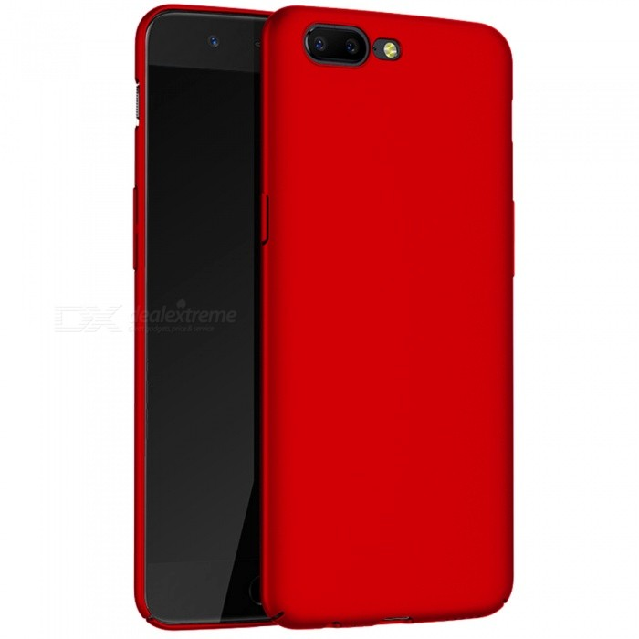 Naxtop Protective PC Hard Back Case for OnePlus 5 - RedPlastic Cases<br>Form  ColorRedModelN/AMaterialPCQuantity1 DX.PCM.Model.AttributeModel.UnitShade Of ColorRedCompatible ModelsOnePlus 5FeaturesAnti-slip,Dust-proof,Shock-proof,Abrasion resistancePacking List1 x Case<br>