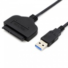 Dayspirit USB 3.0 Male till SATA 2.0 Adapterkabel - Svart