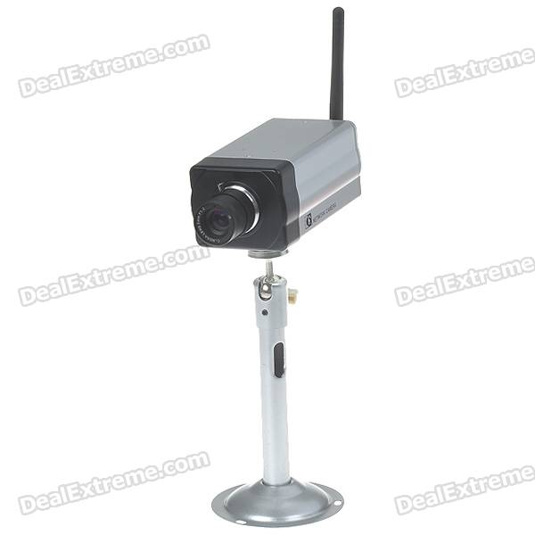 H.264 720P 2.4GHz WIFI Network Internet Surveillance IP CCTV Megapixel Camera with SD/RJ45