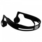 Cwxuan Bone Conduction Bluetooth V4.2 Stereo Halsband Hörlurar-Svart