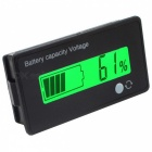 Battery Capacity Indicator Digital Voltmeter Voltage Tester