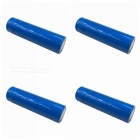 ZHAOYAO 4Pcs LC 3.7V 18650 3000mAh Rechargeable Lithium Battery - Blue