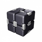 Anti Stress Magic Cube Finger Spinner Toy - Black