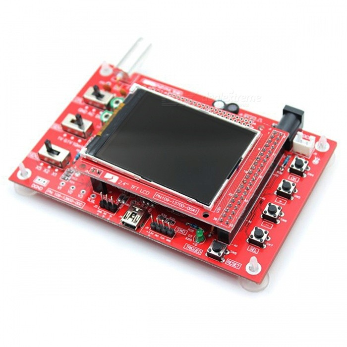 DIY DSO138 Digital Oscilloscope Electronic Learning Kit (No Soldered)Oscilloscope &amp; Logic Analyzer<br>Form  ColorRed + BlackModelDSO138Quantity1 DX.PCM.Model.AttributeModel.UnitMaterialPCBPacking List1 x DIY Cover for DSO1381 x DSO138 Oscilloscope Kit (The DIY kit is not soldered)1 x Probe3 x User Manuals (English)<br>