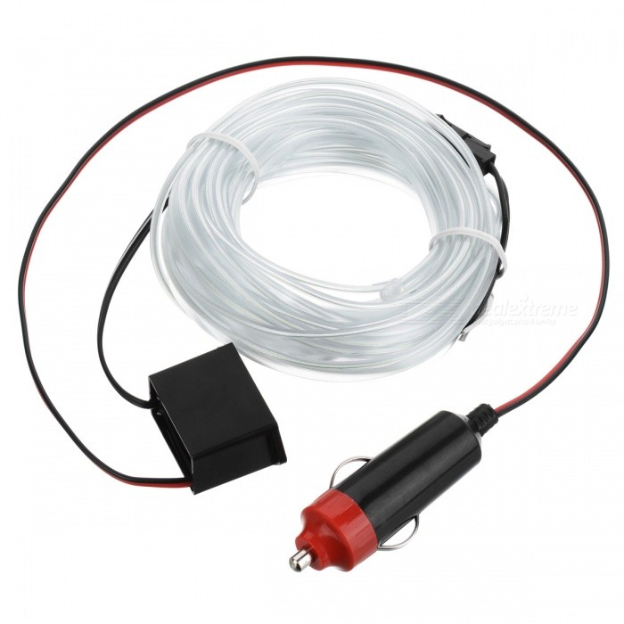 Universal 5M 10 Colors Car Flexible Neon Light EL Wire - Ice BlueOther Interior<br>Form  ColorICE BlueModel-Quantity1 DX.PCM.Model.AttributeModel.UnitMaterialPVCPacking List1 x 5 Meters Wire1 x 12V Inverter<br>