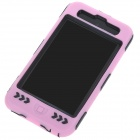 Protective Impact Defender Housing Case with LCD Screen Protector for iPod Touch 4 - Pink
