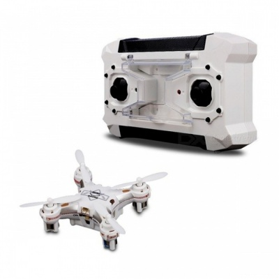 FQ777 124 Mini Pocket-Size RTF UAV RC Quadrocopter Drone - White