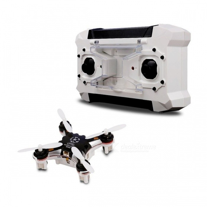 FQ777 124 Mini Pocket-Size RTF UAV RC Quadrocopter Drone - BlackR/C Airplanes&amp;Quadcopters<br>Form  ColorBlack FQ777 124ModelFQ777 124MaterialPlastic, Carbon Fiber, MetalQuantity1 DX.PCM.Model.AttributeModel.UnitShade Of ColorBlackGyroscopeYesChannels Quanlity4 DX.PCM.Model.AttributeModel.UnitFunctionOthers,-Remote TypeRadio ControlRemote control frequency2.4GHzRemote Control Range50 DX.PCM.Model.AttributeModel.UnitSuitable Age 12-15 years,Grown upsCameraNoLamp NoBattery TypeLi-ion batteryBattery Capacity380 DX.PCM.Model.AttributeModel.UnitCharging Time120 DX.PCM.Model.AttributeModel.UnitWorking Time6 DX.PCM.Model.AttributeModel.UnitRemote Controller Battery TypeAARemote Controller Battery Number0Remote Control TypeWirelessModelMode 2 (Left Throttle Hand)Packing List1 x Quadcopter1 x Quadcoper USB Charger4 x Protection Covers1 x Manual<br>