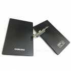 Ultra-Thin USB2.0 HDD Enclosure Case - Black