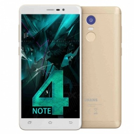 UHANS Note 4 Android 7.0 5.5'' HD 4G Phone 3GB RAM 32GB ROM - Gold