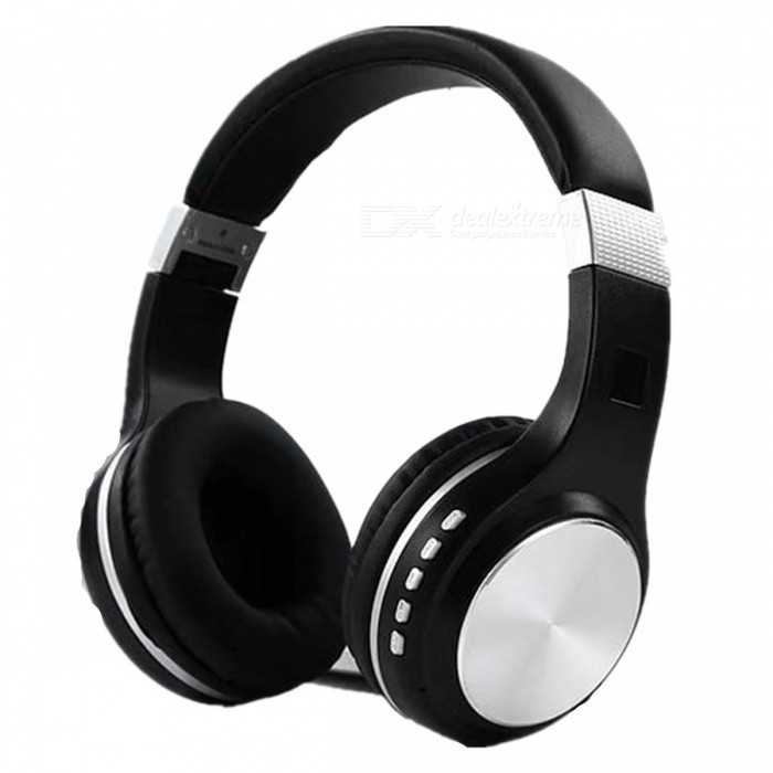 SY-BT1601 Bluetooth Wireless HIFI Bass Stereo Headset - Black + SilverHeadphones<br>Form  ColorBlack + SilverBrandOthersModelSY-BT1601MaterialSilica gel + ABSQuantity1 DX.PCM.Model.AttributeModel.UnitConnectionBluetoothBluetooth VersionBluetooth V4.2Operating Range10MConnects Two Phones SimultaneouslyNoCable Length0 DX.PCM.Model.AttributeModel.UnitLeft &amp; Right Cables TypeEqual LengthHeadphone StyleUnilateralWaterproof LevelIPX0 (Not Protected)Applicable ProductsUniversalHeadphone FeaturesLong Time Standby,Noise-Canceling,Volume ControlRadio TunerNoSupport Memory CardYesMemory Card SlotStandard TF CardMax. Memory Supported32GBSupport Apt-XNoBuilt-in Battery Capacity 240 DX.PCM.Model.AttributeModel.UnitStandby Time120 DX.PCM.Model.AttributeModel.UnitTalk Time8-9 DX.PCM.Model.AttributeModel.UnitPower AdapterUSBPower Supply5VPacking List1 x Bluetooth headset1 x Audio cable1 x USB cable<br>