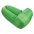 Nuevo Desmontable Plegable 210T Material Lazy inflable silla - Verde