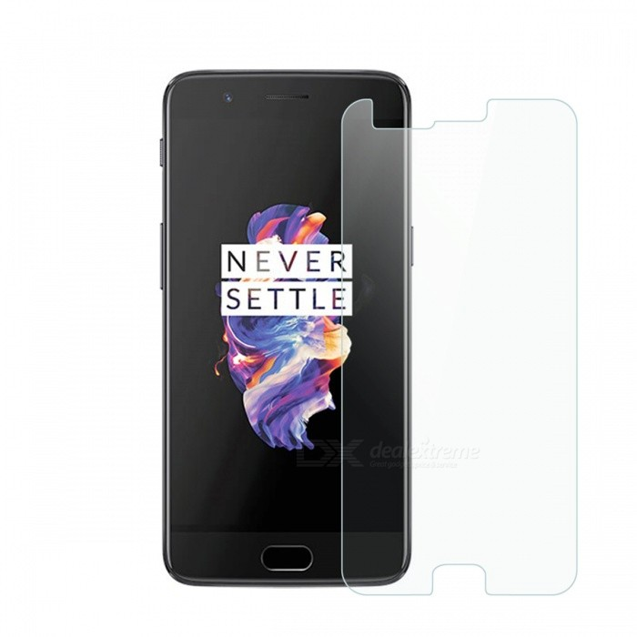 Dayspirit Tempered Glass Screen Protector for OnePlus 5Screen Protectors<br>Form  ColorTransparentScreen TypeGlossyModelN/AMaterialTempered glassQuantity1 DX.PCM.Model.AttributeModel.UnitCompatible ModelsOnePlus 5FeaturesTempered glassPacking List1 x Tempered glass screen protector1 x Dust cleaning film 1 x Alcohol prep pad<br>