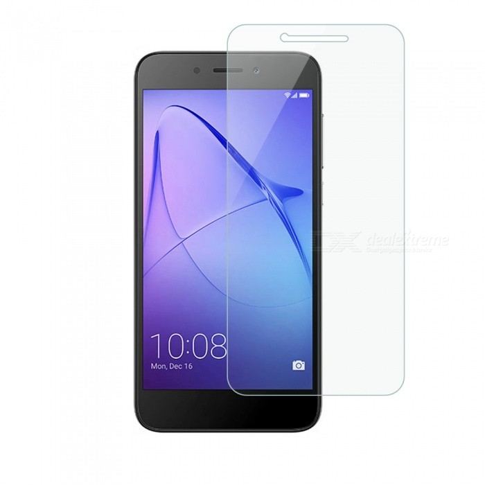 Dayspirit Tempered Glass Screen Protector for Huawei Honor 6AScreen Protectors<br>Form  ColorTransparentScreen TypeGlossyModelN/AMaterialTempered glassQuantity1 pieceCompatible ModelsHuawei Honor 6AFeatures2.5D,Tempered glassPacking List1 x Tempered glass screen protector1 x Dust cleaning film 1 x Alcohol prep pad<br>