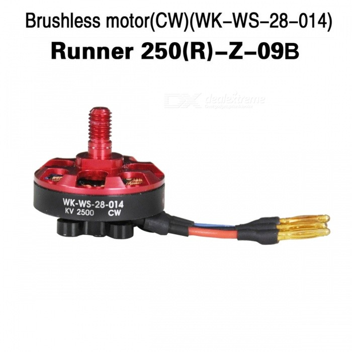 Walkera Runner 250(R)-Z-09B Upgrade Quadcopter CW Motor for Runner 250Other Accessories for R/C Toys<br>Form  ColorRed + MulticoloredModelRunner 250(R)-Z-09BMaterialIronQuantity1 DX.PCM.Model.AttributeModel.UnitCompatible ModelRunner 250 AdvancePacking List1 x Motor<br>