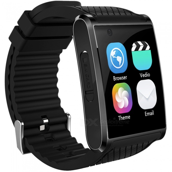 Eastor X11 3G Android 5.1 MTK6580 Bluetooth Smart Watch - BlackSmart Watches<br>Form  ColorBlackModelX11Quantity1 DX.PCM.Model.AttributeModel.UnitMaterialMetal + Silica GelShade Of ColorBlackCPU ProcessorMTK6580Screen Size1.54 DX.PCM.Model.AttributeModel.UnitScreen Resolution320*320Touch Screen TypeCapacitive ScreenNetwork Type2G,3GCellularWCDMA,GSMSIM Card TypeNano SIMBluetooth VersionBluetooth V4.0Operating SystemAndroid 5.1Compatible OSAndroid, IOSLanguageFrench, Japanese, Italian, Russian, Hebrew, Turkish, German, Spanish, Polish, Portuguese, English, KoreanWristband Length25.5 DX.PCM.Model.AttributeModel.UnitWater-proofOthers,Life WaterproofBattery ModeReplacementBattery TypeLi-ion batteryBattery Capacity450 DX.PCM.Model.AttributeModel.UnitStandby Time5-7 DX.PCM.Model.AttributeModel.UnitPacking List1 x Smart Watch1 x Charging Cable1 x Manual<br>