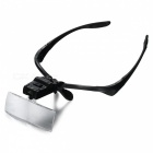 Headband Magnifying Glass Eye Repair Magnifier w/ 2 LED Light