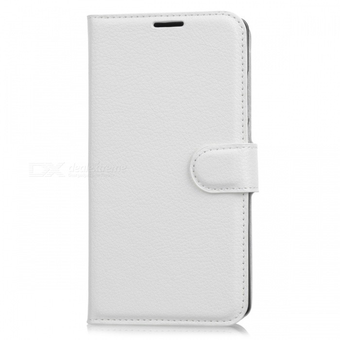 Lychee Pattern Flip-Open PU Case for Doogee MIX - WhiteLeather Cases<br>Form  ColorWhiteModelN/AMaterialPUQuantity1 DX.PCM.Model.AttributeModel.UnitShade Of ColorWhiteCompatible ModelsDoogee MIXFeaturesAnti-slip,Dust-proof,Shock-proof,Abrasion resistance,Holder functionPacking List1 x Case<br>