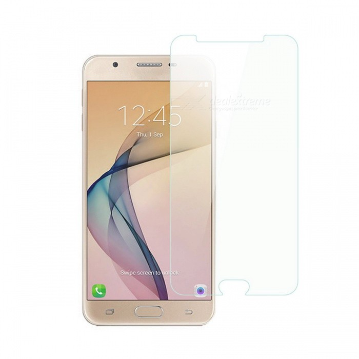 Dayspirit Tempered Glass Screen Protector for Samsung Galaxy J7 PrimeScreen Protectors<br>Form  ColorTransparentScreen TypeGlossyModelN/AMaterialTempered glassQuantity1 DX.PCM.Model.AttributeModel.UnitCompatible ModelsSamsung Galaxy J7 PrimeFeaturesTempered glassPacking List1 x Tempered glass screen protector1 x Dust cleaning film 1 x Alcohol prep pad<br>